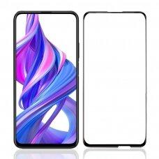 Lcd Apsauginis Stikliukas 9D Full Glue Huawei P Smart Pro 2019/Honor Y9S Juodas