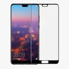 LCD apsauginis stikliukas 9D Full Glue Huawei P20 Pro juodas UCS074