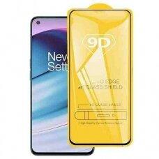 LCD apsauginis stikliukas 9D Full Glue OnePlus Nord CE 5G juodas
