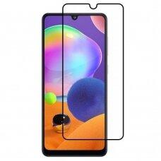 LCD apsauginis stikliukas 9D Full Glue Samsung A31 juodas