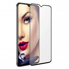 LCD apsauginis stikliukas 9D Full Glue Samsung A426 A42 juodas