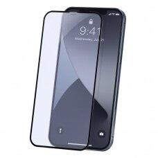 Lcd Apsauginis Stikliukas 9D Gorilla Apple Iphone 12/12 Pro Juodas