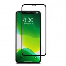 Lcd Apsauginis Stikliukas 9D Gorilla Apple Iphone X/Xs/11 Pro Juodas