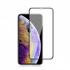 Lcd Apsauginis Stikliukas 9H 5D Apple Iphone Xr/11 Juodas