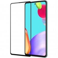 LCD apsauginis stikliukas 9H 5D Samsung A52/ A52s juodas