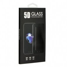 LCD apsauginis stikliukas 9H 5D Samsung S21 Ultra juodas (su išpjovimu)