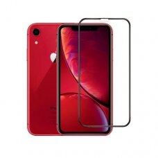Lcd Apsauginis Stikliukas Adpo 3D Iphone 12 Pro Max Lenktas Juodas