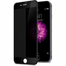 Lcd Apsauginis Stikliukas Adpo 3D Iphone 7 Plus Lenktas Juodais Kraštais