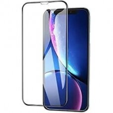 Lcd Apsauginis Stikliukas Adpo 3D Iphone Xs Max/11 Pro Max Lenktas Juodas