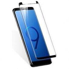 Lcd Apsauginis Stikliukas Adpo 3D Pritaikytas Dėklui Samsung G960 S9 Lenktas Juodas