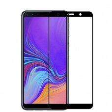 Lcd Apsauginis Stikliukas Adpo 3D Samsung A750 A7 2018 Lenktas Juodas