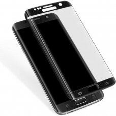 Lcd Apsauginis Stikliukas Adpo 3D Samsung G930 S7 Lenktas Juodas