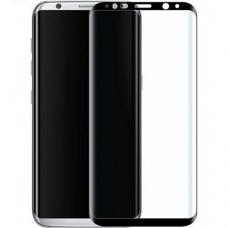 Lcd Apsauginis Stikliukas Adpo 3D Samsung G950 S8 Lenktas Juodas