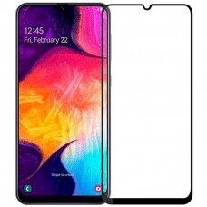 LCD apsauginis stikliukas BeHello High Impact Glass 5D Samsung A42 juodas