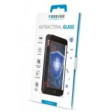 LCD apsauginis stikliukas Forever Antibacterial Apple iPhone XS Max/11 Pro Max juodas