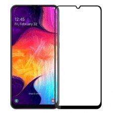 Lcd Apsauginis Stikliukas Myscreen Diamond Edge Full Glue Samsung A405 A40 Juodas