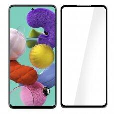 Lcd Apsauginis Stikliukas Myscreen Diamond Edge Full Glue Samsung A715 A71 Juodais Kraštais