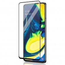 LCD apsauginis stikliukas MyScreen Diamond Edge Full Glue Samsung N770 Note 10 Lite/A81 juodais kraštais UCS020
