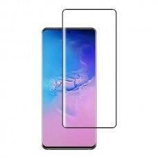 LCD apsauginis stikliukas MyScreen Diamond Edge Full Glue Samsung S10 Lite/A91 juodas UCS005