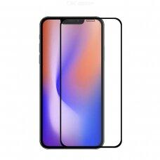 Lcd Apsauginis Stikliukas Myscreen Lite Edge Full Glue Apple Iphone 12/12 Pro Juodas
