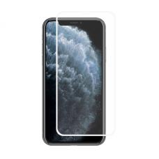 LCD apsauginis stikliukas MyScreen Lite Edge Full Glue Apple iPhone X/XS galinis baltas USC060