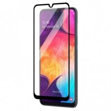 LCD apsauginis stikliukas MyScreen Lite Edge Full Glue Samsung A505 A50/A507 A50s/A307 A30s / A305 A30 juodas UCS031