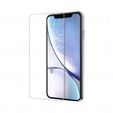LCD apsauginis stikliukas Nano Optics 5D UV Glue iPhone XS lenktas skaidrus USC060