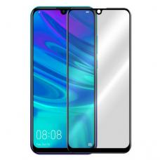 Lcd Lenktas Apsauginis Stikliukas 5D Full Glue Huawei Y5 2019 Juodais Kraštais