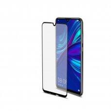 Lcd Lenktas, Pilnai Dengiantis Apsauginis Stikliukas 5D Full Glue Huawei Y6 2019/Y6 Pro 2019  Juodais Kraštais