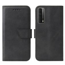 Magnet Case elegant atverčiamas dėklas Huawei P Smart 2021 juodas
