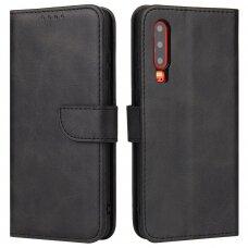 Atverčiamas Dėklas Magnet Case elegant bookcase Huawei P30 Juodas