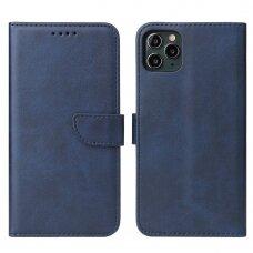 Atverčiamas Dėklas Magnet Case elegant bookcase iPhone 11 Pro Mėlynas