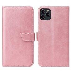 Atverčiamas Dėklas Magnet Case elegant bookcase iPhone 11 Pro Rožinis