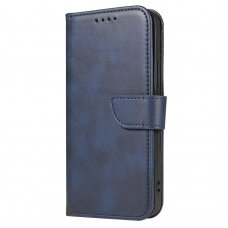Atverčiamas Dėklas Magnet Case elegant bookcase Samsung Galaxy A02s Mėlynas