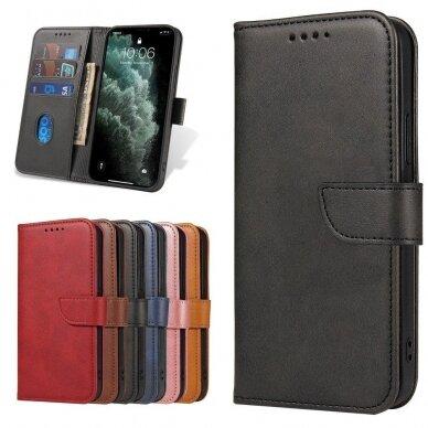 Atverčiamas Dėklas Magnet Case elegant bookcase Samsung Galaxy S20 Juodas 9