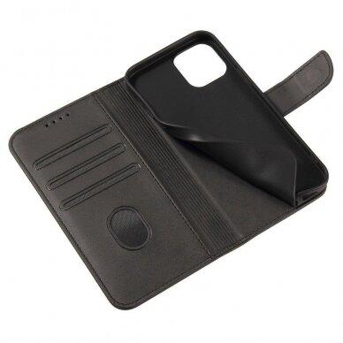 Atverčiamas Dėklas Magnet Case elegant bookcase Samsung Galaxy S20 Juodas 2