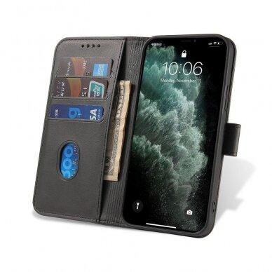Atverčiamas Dėklas Magnet Case elegant bookcase Samsung Galaxy S20 Juodas 3