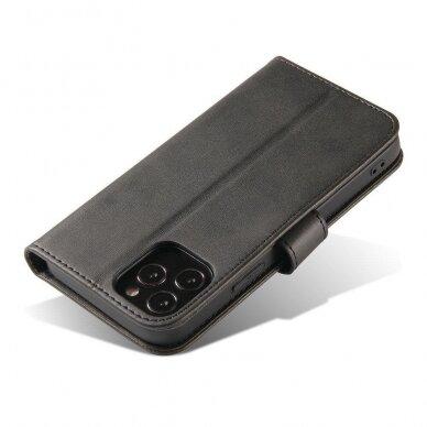 Atverčiamas Dėklas Magnet Case elegant bookcase Samsung Galaxy S20 Juodas 8