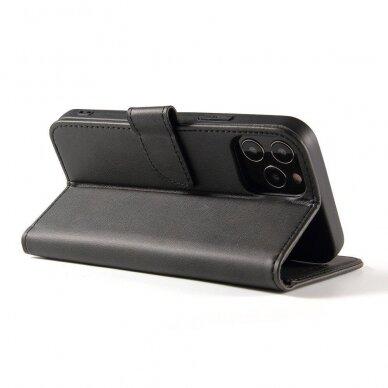 Atverčiamas Dėklas Magnet Case elegant bookcase Samsung Galaxy S20 Juodas 7