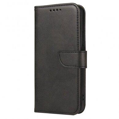 Atverčiamas Dėklas Magnet Case elegant bookcase Samsung Galaxy S20 Juodas