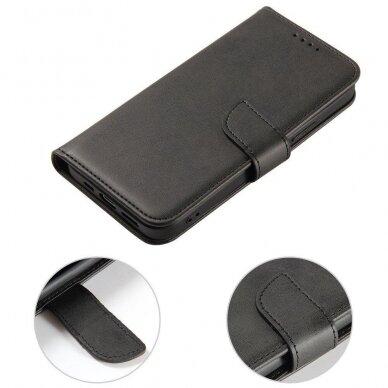 Atverčiamas Dėklas Magnet Case elegant bookcase Samsung Galaxy S20 Juodas 4