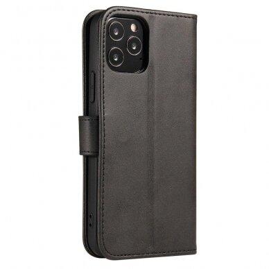 Atverčiamas Dėklas Magnet Case elegant bookcase Samsung Galaxy S20 Juodas 5
