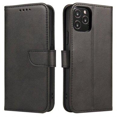Atverčiamas Dėklas Magnet Case elegant bookcase Samsung Galaxy S20 Juodas 6