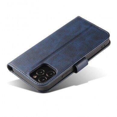 Atverčiamas Dėklas Magnet Case elegant bookcase Samsung Galaxy S20 Mėlynas 8
