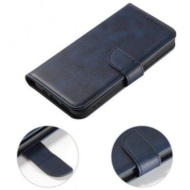 Atverčiamas Dėklas Magnet Case elegant bookcase Samsung Galaxy S20 Mėlynas 4