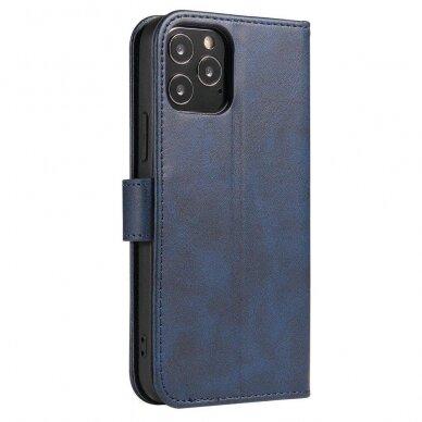 Atverčiamas Dėklas Magnet Case elegant bookcase Samsung Galaxy S20 Mėlynas 5