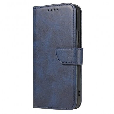 Atverčiamas Dėklas Magnet Case elegant bookcase Samsung Galaxy S20 Mėlynas