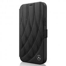 Originalus atverčiamas Mercedes Meflbkp12Sdiqbk Iphone 12 Mini juodas Bow Line