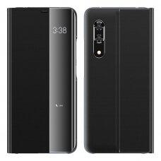 New Sleep Case Atverčiamas Dėklas, Turintis Atramos Funkciją skirta Huawei P20 Pro Juodas