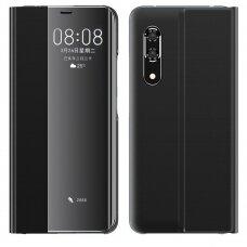 New Sleep Case Atverčiamas Dėklas, Turintis Atramos Funkciją Huawei P30 Pro Juodas